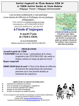 INvitation Aujargues2017